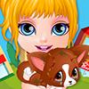 Baby Barbie Injured Pet