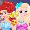 Ariel Vs Elsa Party Girls
