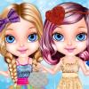 Baby Barbie Glittery Fashion