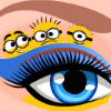 Barbie Minions Make-Up