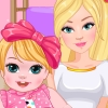 Barbie And Baby Birthday Tutu