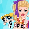 Barbie's Powerpuff Girls