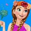 Elsa And Anna Spring Dressup