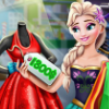 Elsa Real-life Shopping