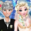 Jack And Elsa Perfect Wedding Pose