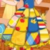 Snow White Patchwork Dress