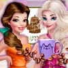 Princesses Fashion Over Coffee