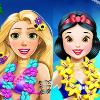 Rapunzel And Snow White Summer Break