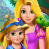Rapunzel Mommy Gardening