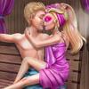 Super Barbie Sauna Flirting